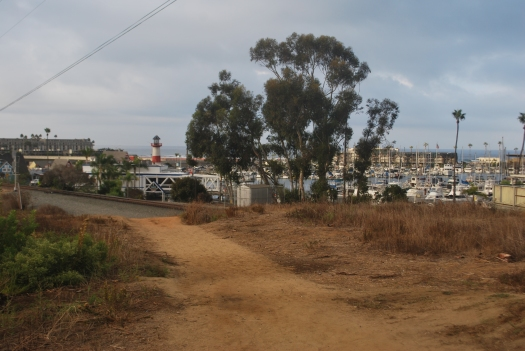 Oside path to Harbor